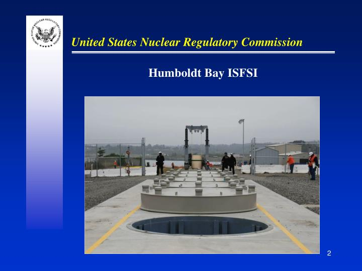 Humboldt Bay ISFSI