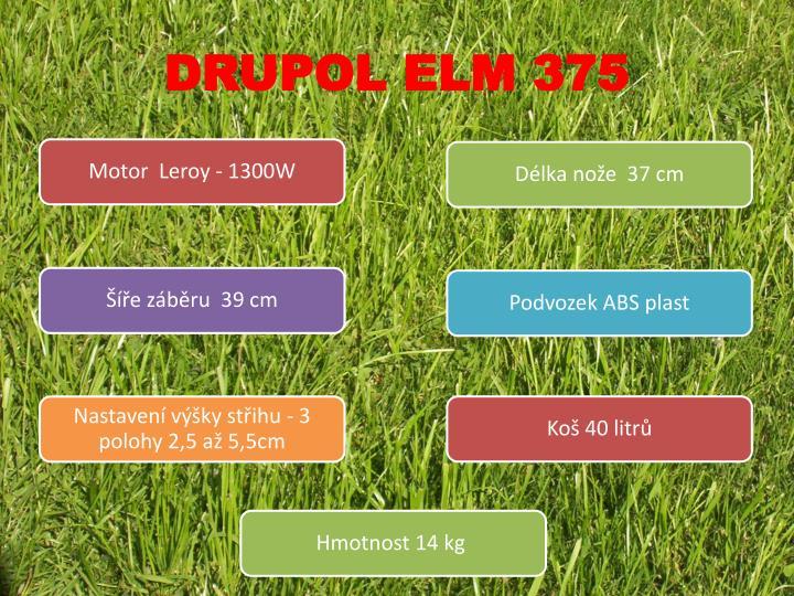 DRUPOL ELM 375