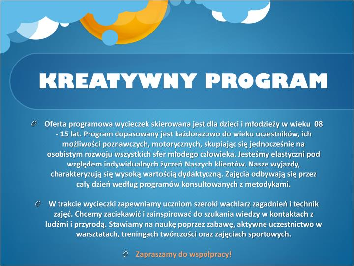 Kreatywny program