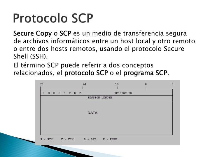 Protocolo SCP