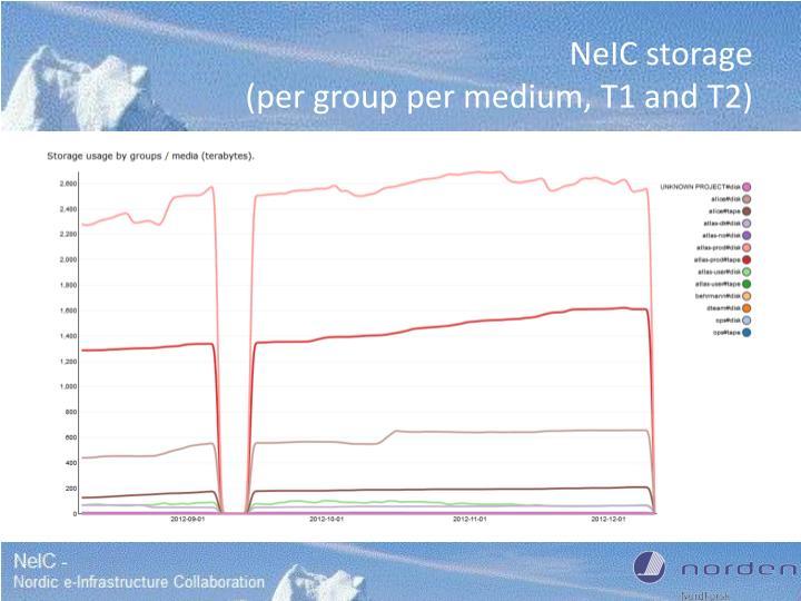 NeIC storage