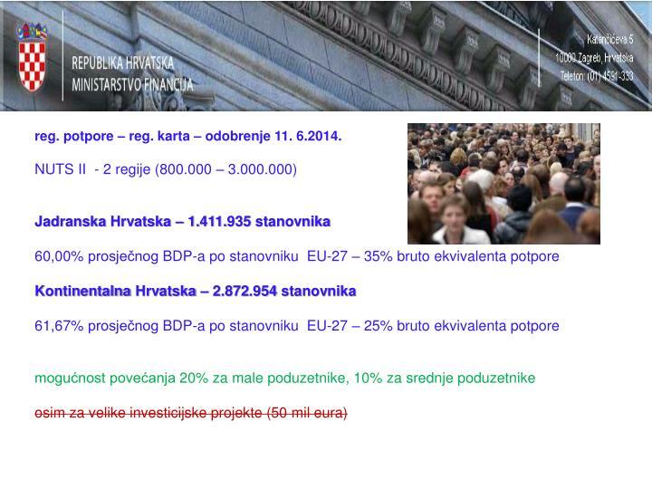reg. potpore – reg. karta – odobrenje 11. 6.2014.