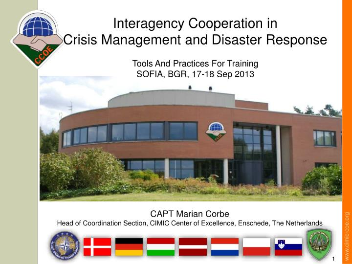 Interagency Cooperation in