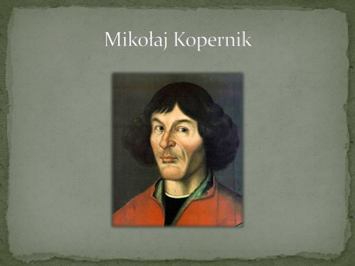 Mikoaj Kopernik