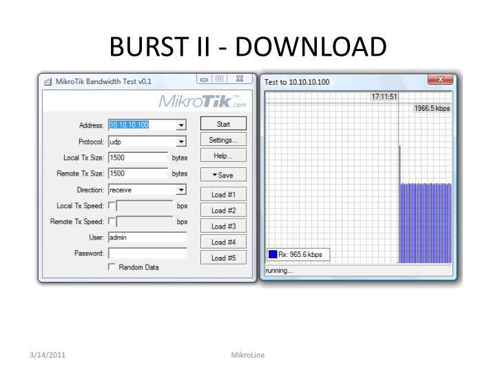 BURST II - DOWNLOAD