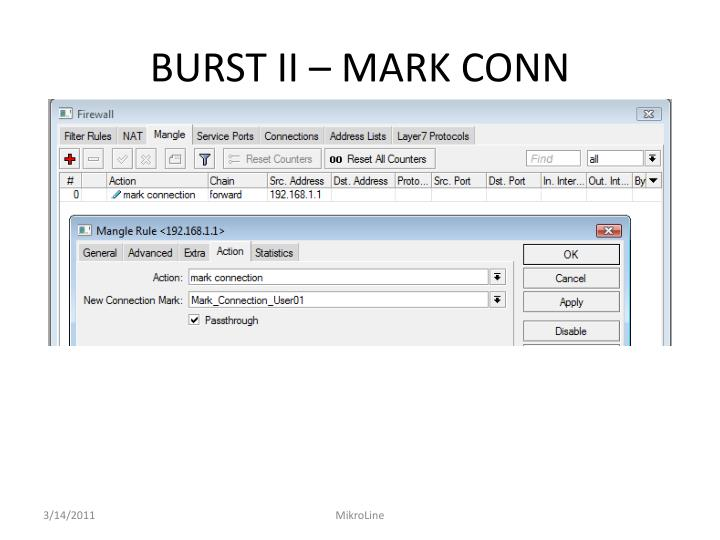 BURST II – MARK CONN