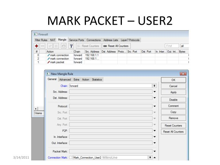 MARK PACKET –
