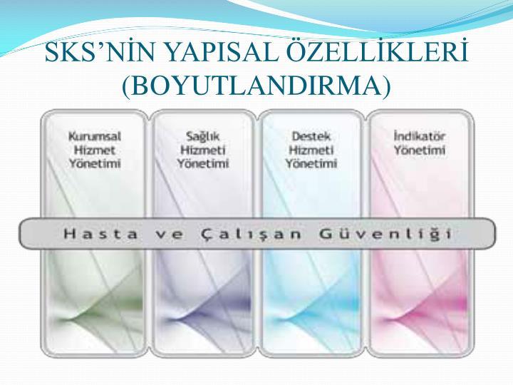 SKS'NİN YAPISAL ÖZELLİKLERİ