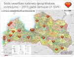 sirds vesel bas kabinetu eogr fiskais izvietojums 2010 gad darbojas 21 svk