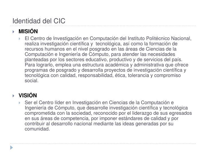 Identidad del CIC