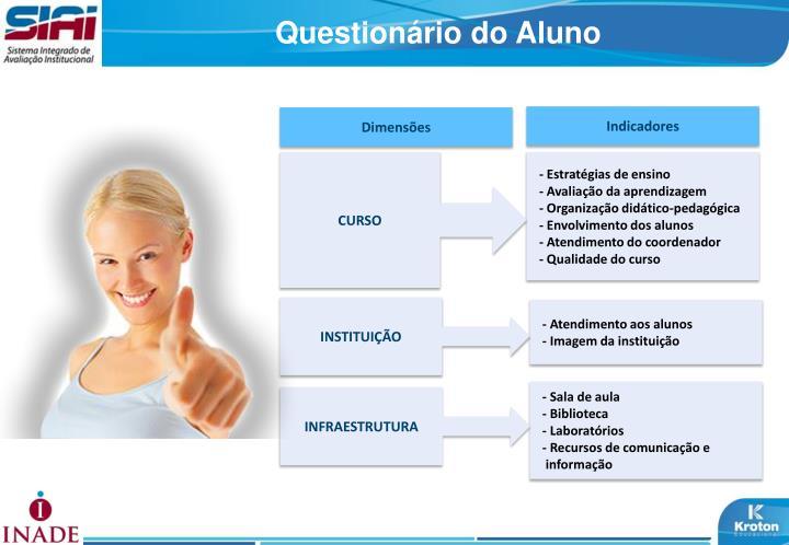 Questionário do Aluno