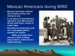 mexican americans during ww2