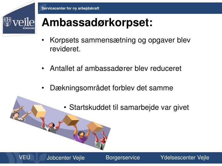 Ambassadørkorpset:
