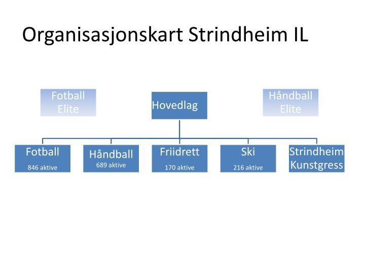 Organisasjonskart Strindheim IL