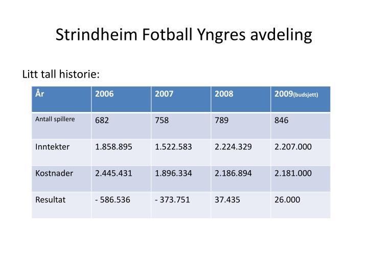 Strindheim Fotball Yngres avdeling