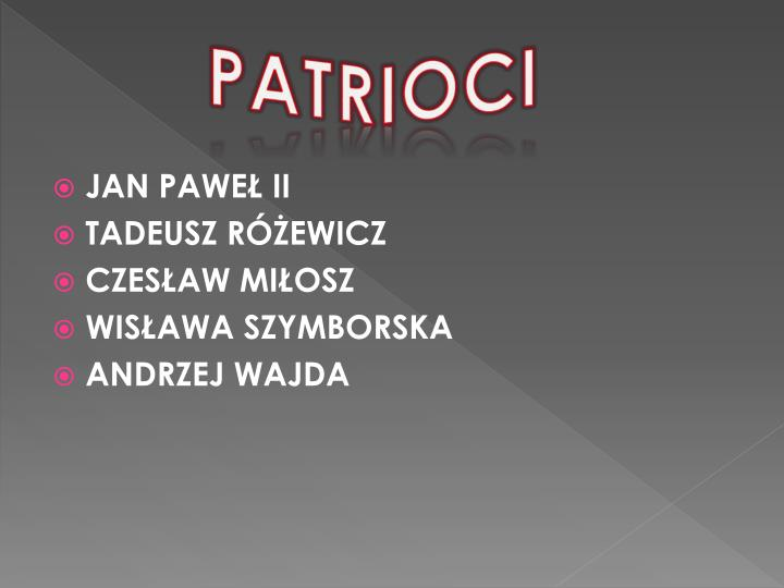 PATRIOCI