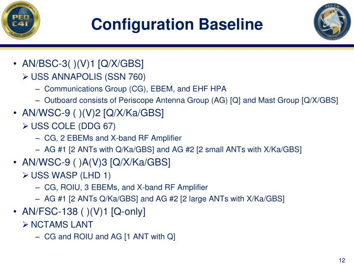 Configuration Baseline
