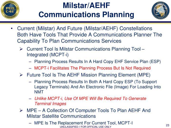 Milstar/AEHF