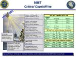 nmt critical capabilities