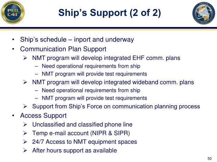 Ship's Support (2 of 2)