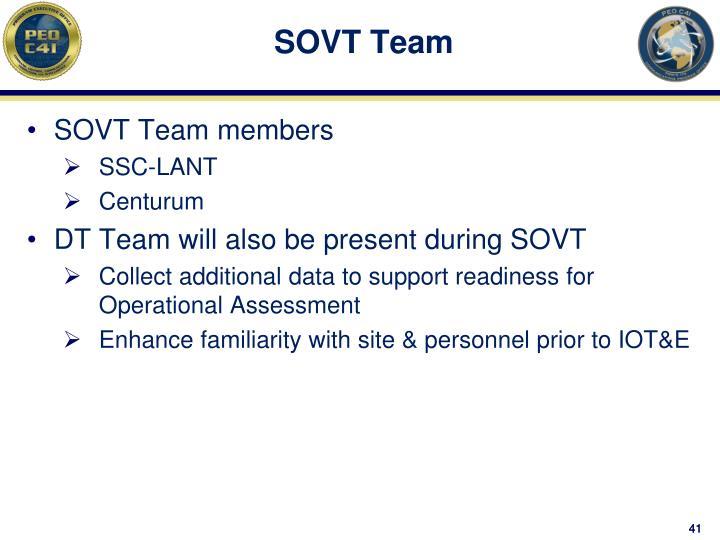 SOVT Team