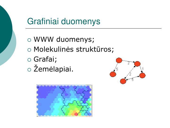 Grafiniai duomenys