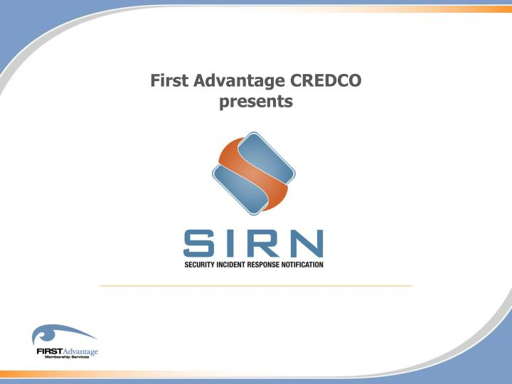 First Advantage CREDCO