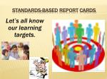 standards based report cards