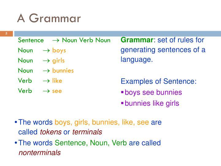 A Grammar