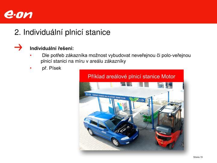 2. Individuální plnicí stanice