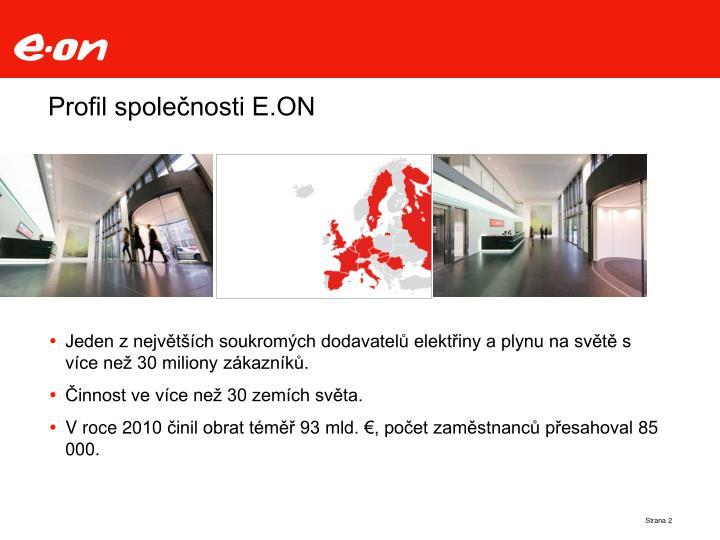 Profil společnosti E.ON