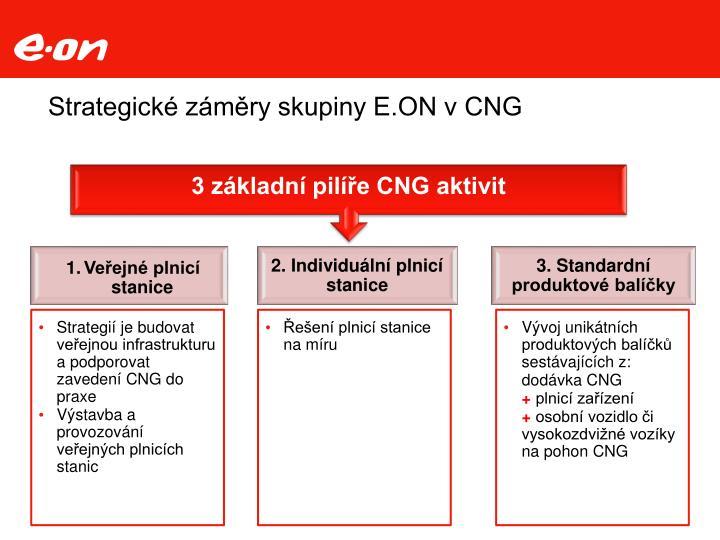 Strategické záměry skupiny E.ON v CNG
