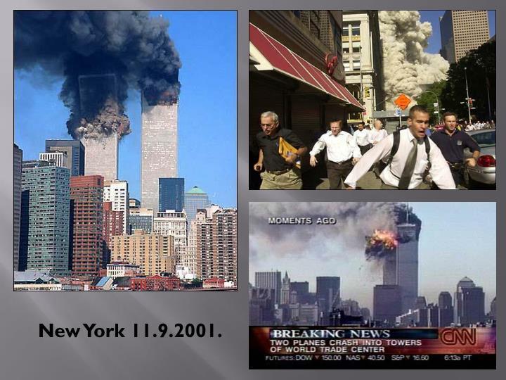 New York 11.9.2001.