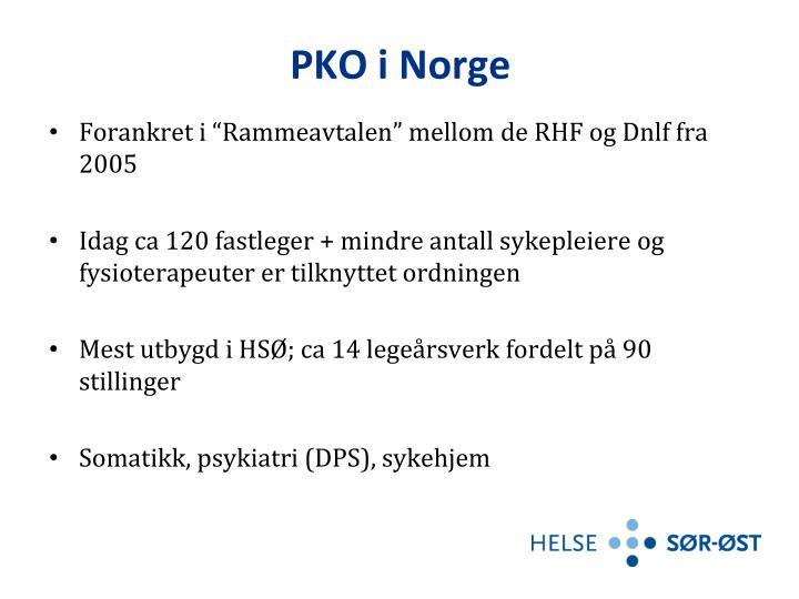 PKO i Norge
