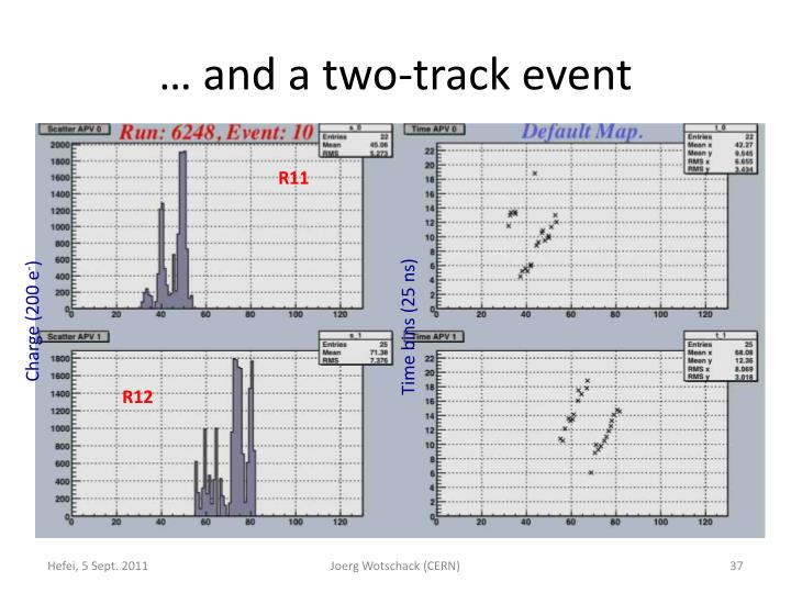… and a two-track event