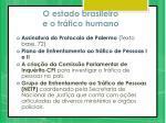 o estado brasileiro e o tr fico humano