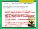 o estado brasileiro e o tr fico humano1