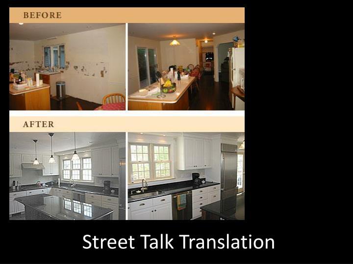 Street Talk Translation