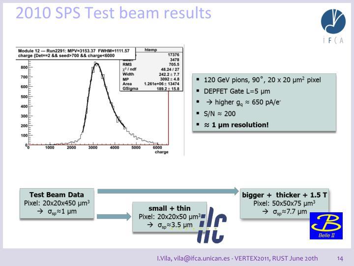2010 SPS Test