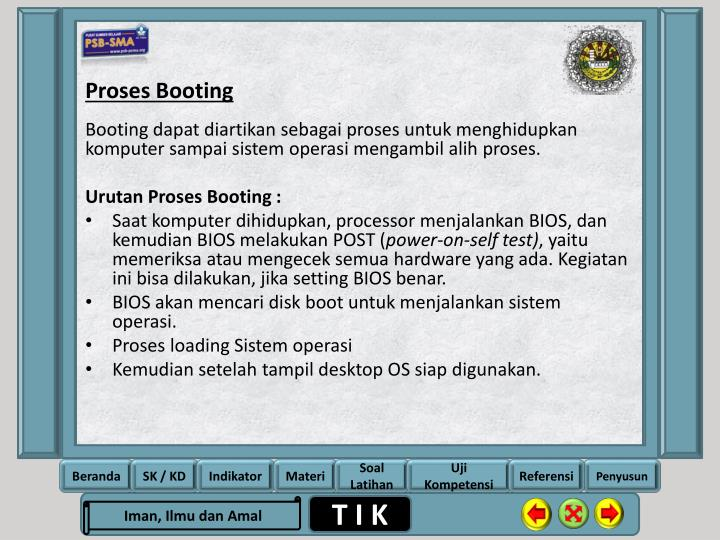 Proses Booting