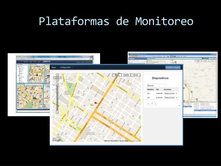 Plataformas de Monitoreo