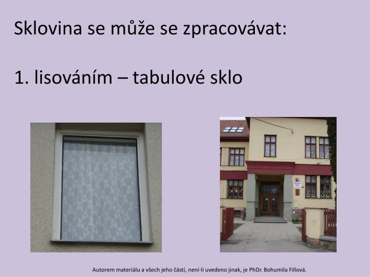 Sklovina