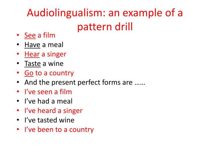 Audiolingualism