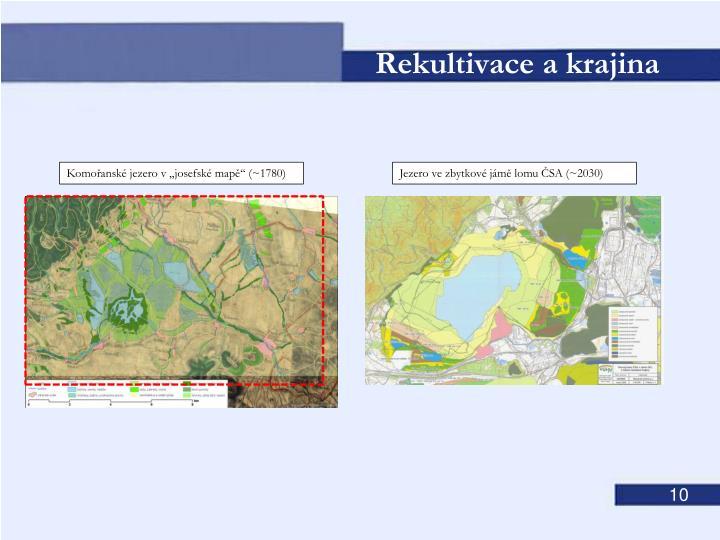 Jezero ve zbytkové jámě lomu ČSA (~2030)