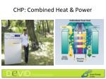 chp combined heat power