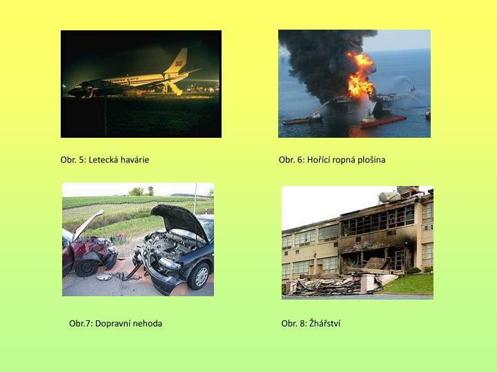 Obr. 5: Letecká havárie                                                            Obr