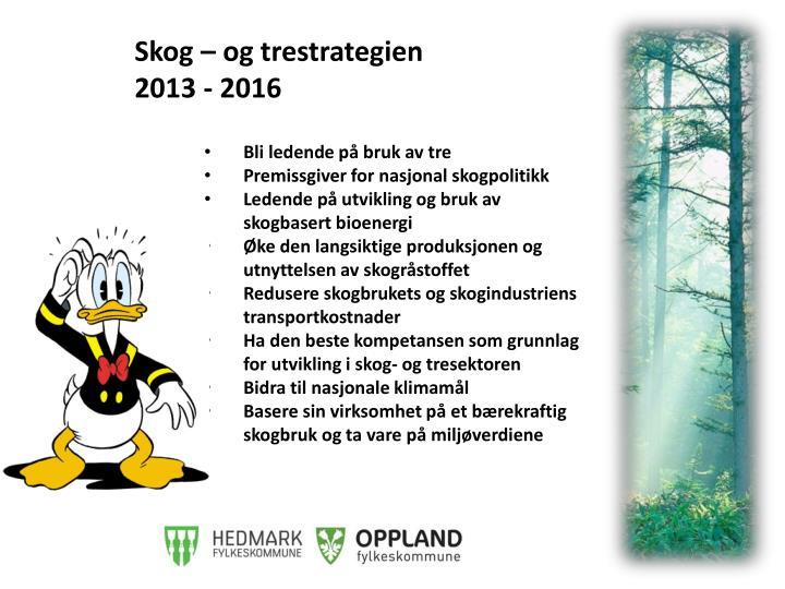 Skog – og
