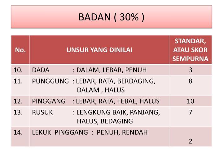 BADAN ( 3