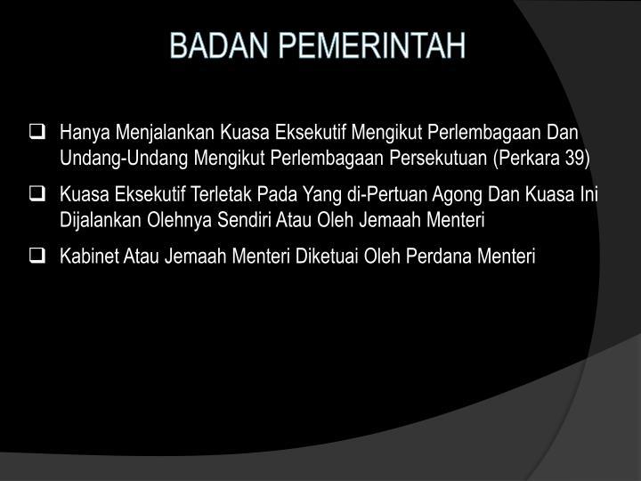 BADAN PEMERINTAH