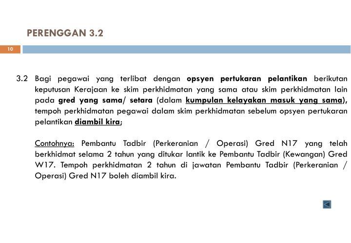 PERENGGAN 3.2